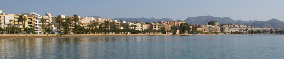 Mazarron has 31! beaches